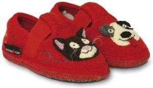 Домашняя анатомическая обувь детская HAFLINGER SLIPPER