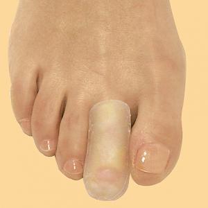 Защитный гелевый колпачок для деформированных пальцев стопы