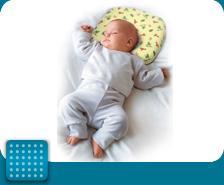 Ортопедическая подушка для детей с 2 месяцев до 1,5 лет арт. П09