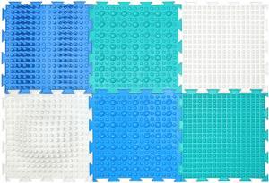 Модульный ортопедический коврик ОРТО Айсберг (6 пазлов)
