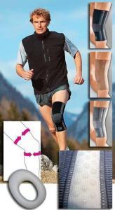 Бандаж на колено с силиконовым кольцом GENUMEDI