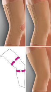 Бандаж Knee Support c 4 гибкими ребрами жесткости модель 603