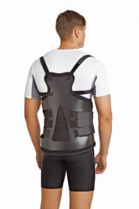 Корсет грудопоясничный жесткий с пластиковой рамой арт. LSO-991