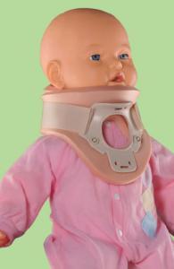 Ортез PHILADELPHIA с отверстием над трахеей для грудных детей