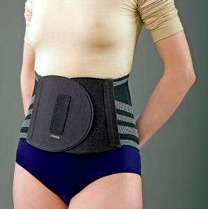 Корсет ортопедический пояснично-крестцовый с массажной подушкой для женщин