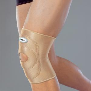 Бандаж на коленный сустав с подушкой и отверстием (airprene)