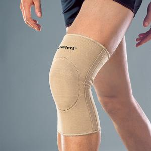 Бандаж на коленный сустав с фиксирующей подушкой и ребрами жесткости