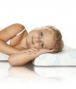 Ортопедическая подушка для детей старше 3 лет с эффектом памяти RESPECTA BABY