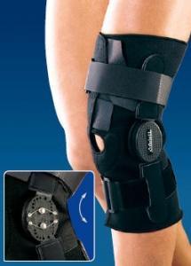 Ортез на колено c двуосными регулируемыми шарнирами RKN-381