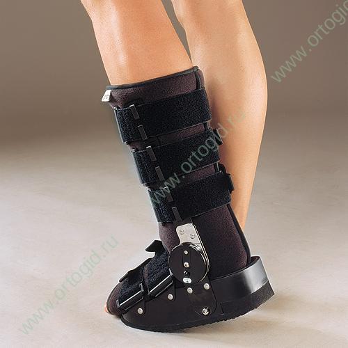 Ортез голеностопного сустава регулируемый has-301 блокада болевого синдрома коленного сустава